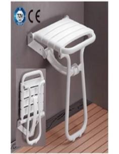 Siège de douche escamotable à béquille pellet 047630