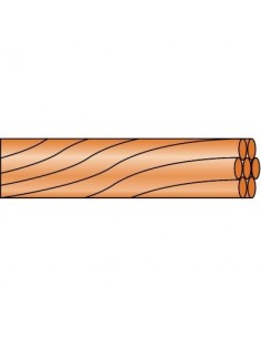 C,ble de terre vg 1/2 touret 25 mm² 100