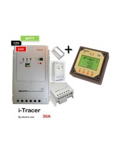 Régulateur 12v-24v i-tracer MPPT 30A avec ecran