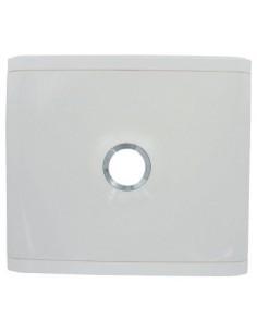Porte pour platine disjoncteur edf vg porte blanche pour platine