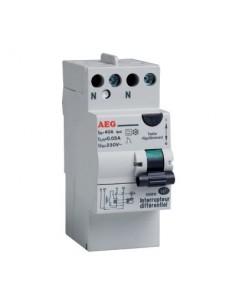 Interrupteur différentiel type ac avec borne étagée vg 40 2