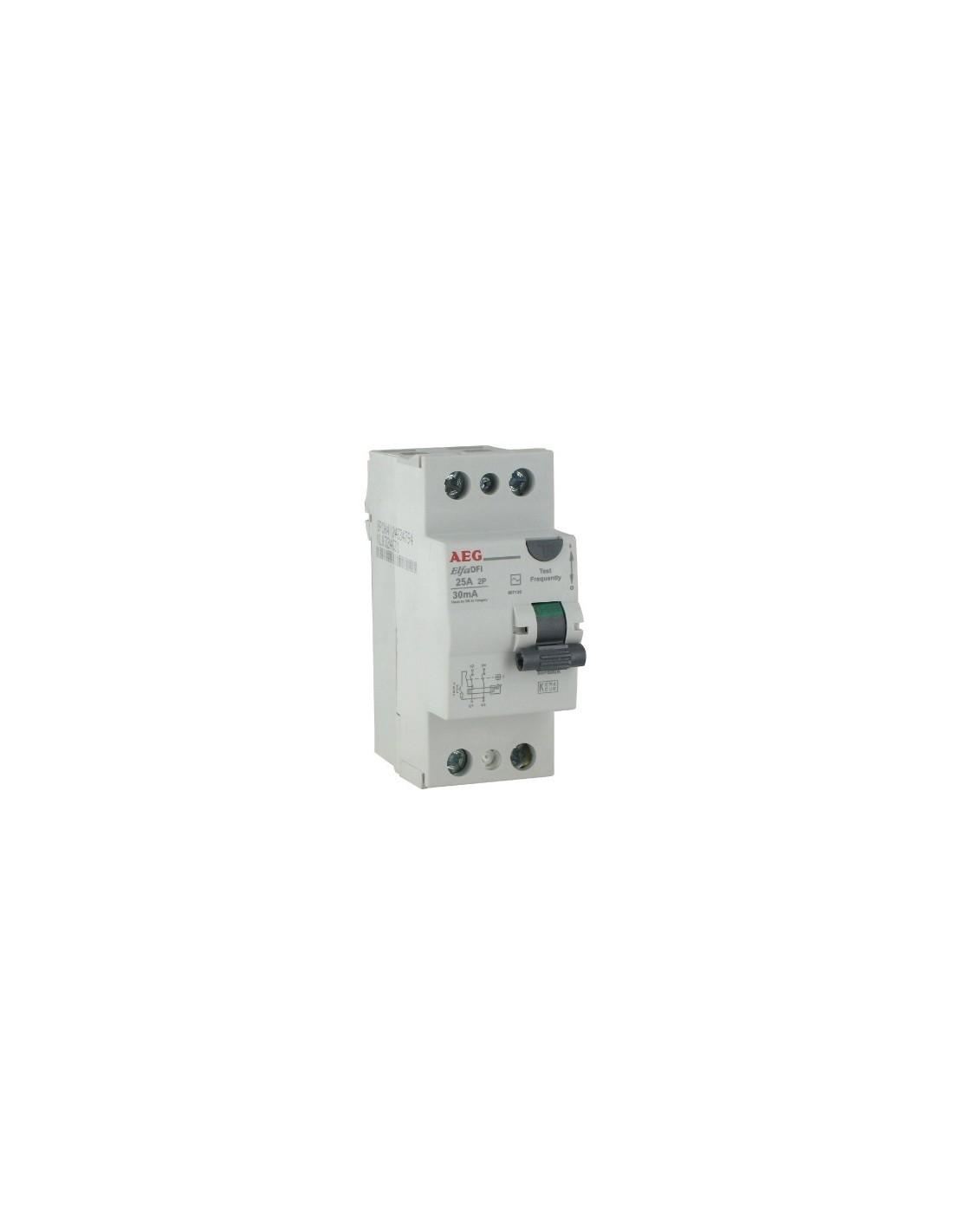 Interrupteur diff rentiel type ac vg 25 2 - Differentiel type a ou ac ...