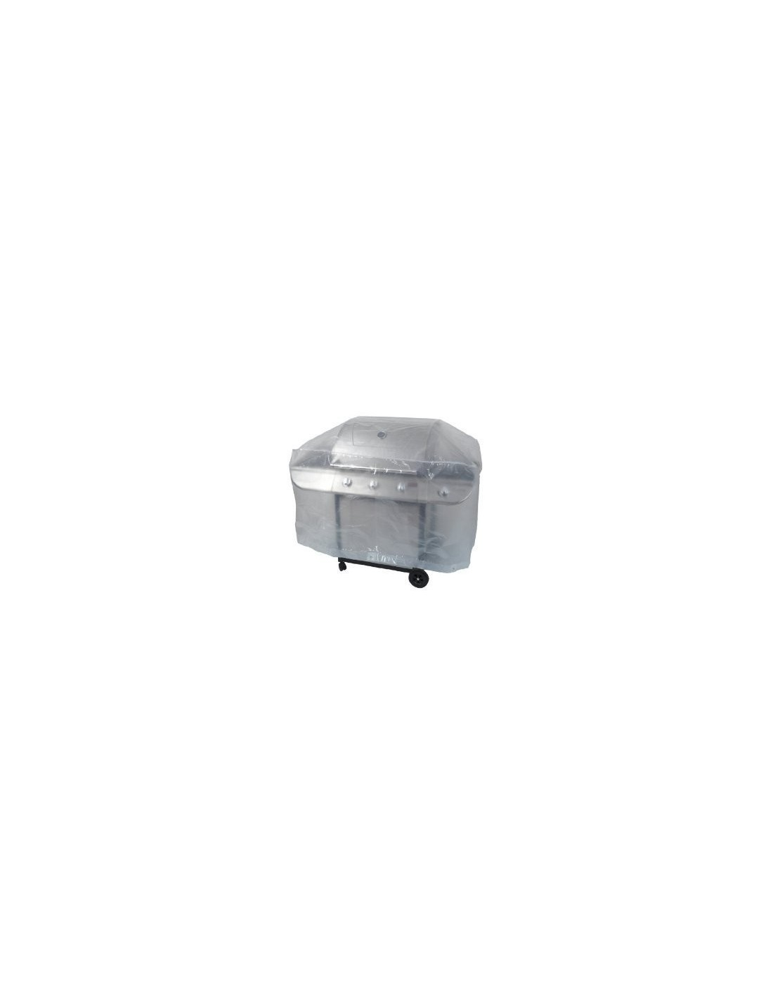 Housse de protection barbecue 125x60x55cm for Housse barbecue