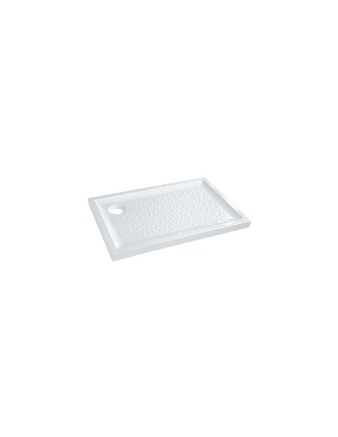 Bac de douche prima extra plat rectangulaire poser - Pose receveur douche extra plat ...