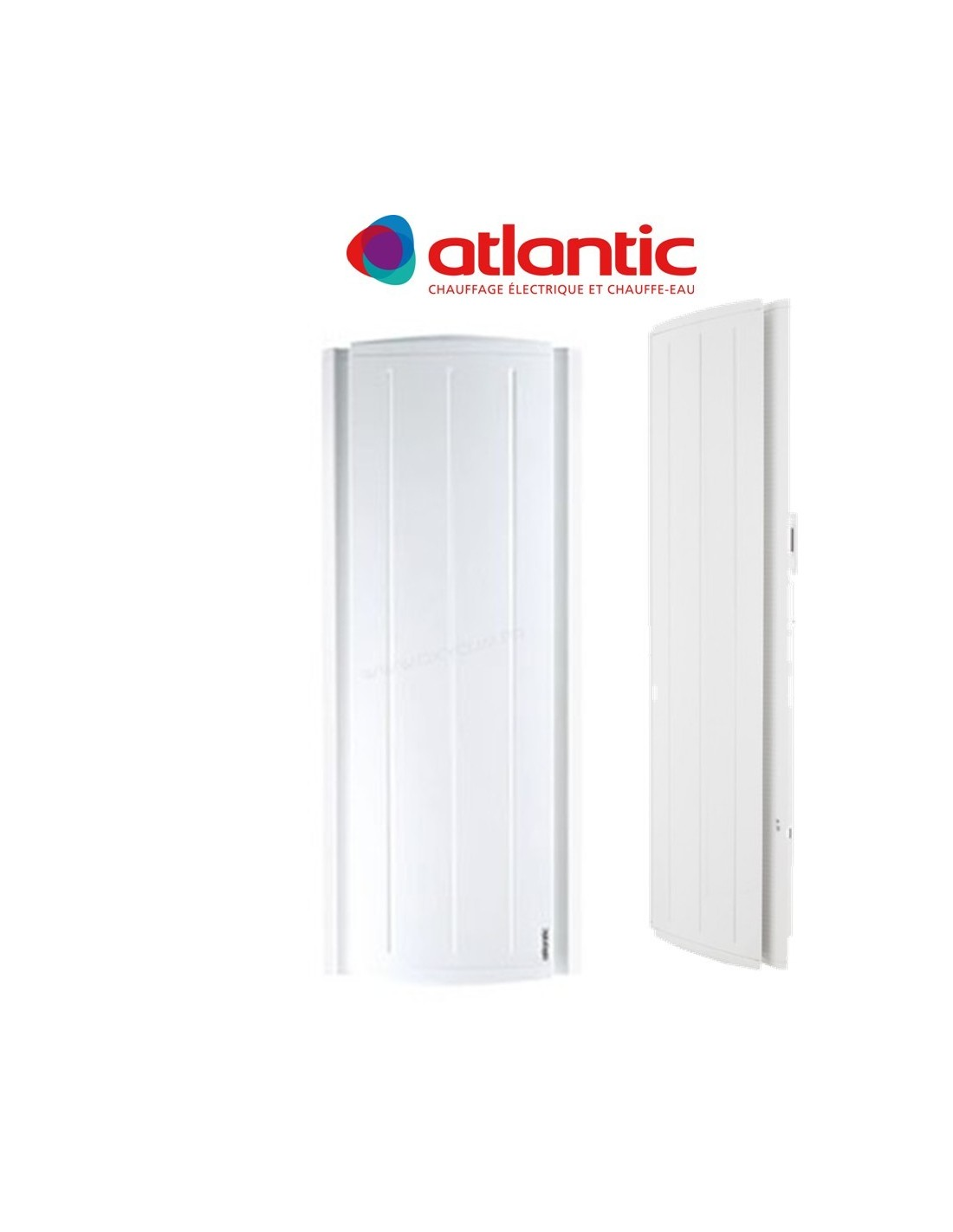 radiateur atlantic maradja vertical 1500w ebay. Black Bedroom Furniture Sets. Home Design Ideas