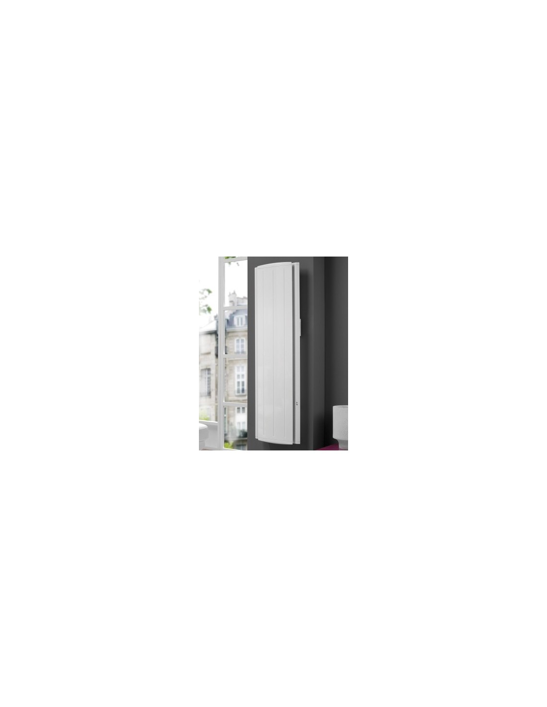 radiateur atlantic maradja vertical 2000w ebay. Black Bedroom Furniture Sets. Home Design Ideas