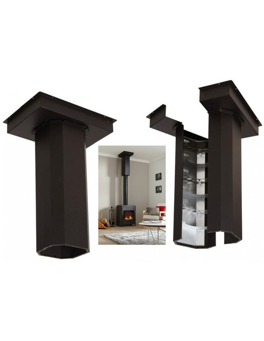 poele a bois avec recuperateur de chaleur. Black Bedroom Furniture Sets. Home Design Ideas