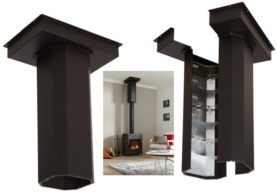 poele bois avec soufflerie. Black Bedroom Furniture Sets. Home Design Ideas
