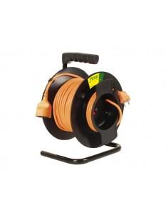 Enrouleur, rallonge électrique pour tondeuse de jardin