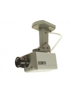 Caméra de surveillance factice et rotative à léds