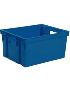 Bac de rangement 20 l vg 38,9 x 29,5 x 22,5 bleu