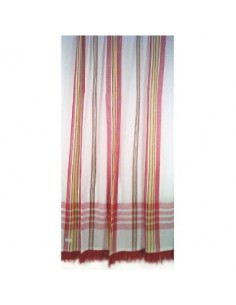 Portière rideau coton vg marseillais rouge