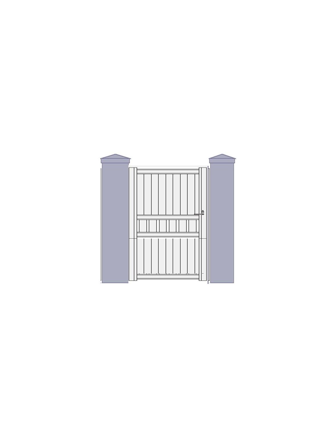 portillon aluminium design strasbourg sur mesure. Black Bedroom Furniture Sets. Home Design Ideas
