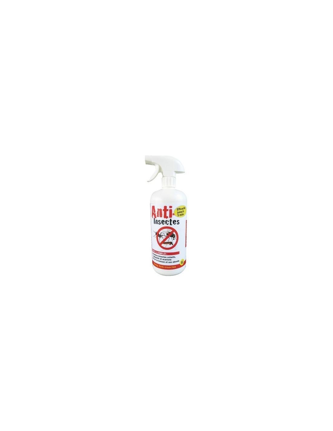 Insecte Salle De Bain Volant ~ spray anti insectes volants rampants et acariens vg pulverisateur 1 l