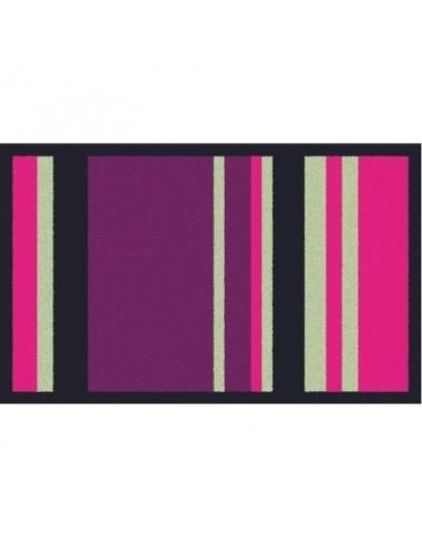 tapis anti poussi res graphiques vg bayad re violet gris 50 x 76. Black Bedroom Furniture Sets. Home Design Ideas