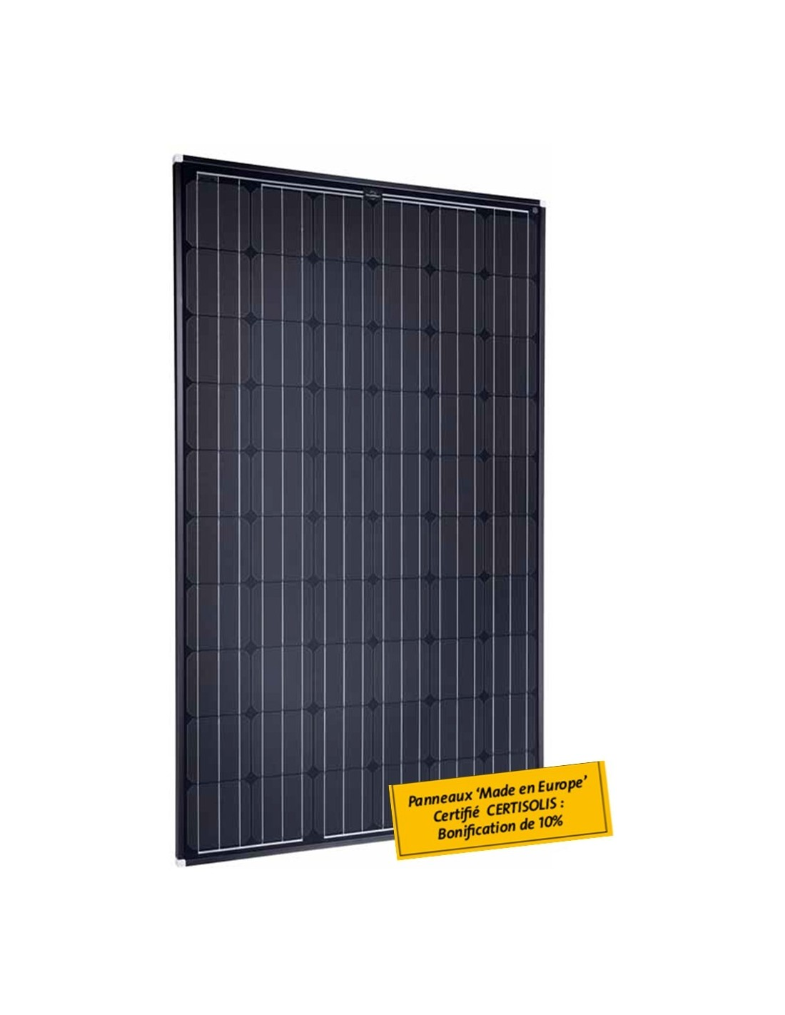 panneau solaire 250w black monochristallin ebay. Black Bedroom Furniture Sets. Home Design Ideas