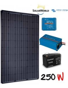 Kit solaire 260w , batterie 200 ah, 700w victron