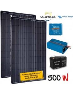 Kit solaire 520w , batterie 200 ah, 700w victron