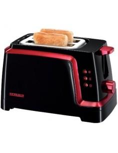 Grille-pains automatique bg 820 noir / rouge métallisé