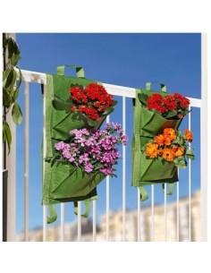 Jardin balcon 4 poches vg vert 2