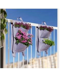 Jardin balcon 4 poches vg lilas 2