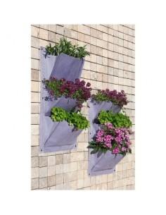 Jardin vertical 3 poches vg lilas 2