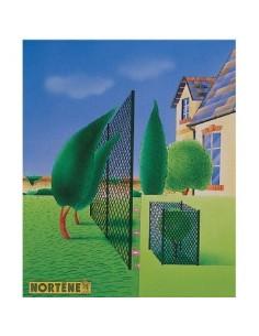 Brise-vent plastique vert vg 1,20 x 30