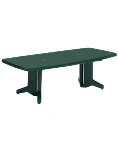 Salon vert résine table à rallonge bg table avec 1 rallonge