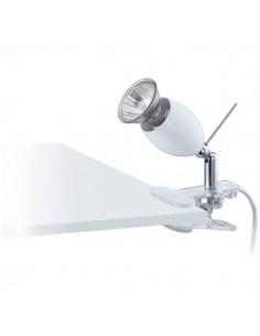 LAMPE SPOT PINCE GU10 BLANC