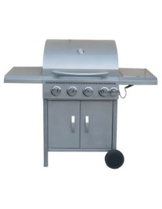 Barbecue à gaz 4 + 1 brûleurs bg 132 x 112 x 58