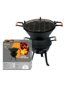 """Barbecue rond fonte acier à l'ancienne gm """"belle époque"""" bg 38 x 49,5"""