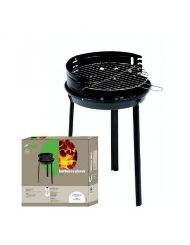 "Barbecue rond acier ""plaisir"" bg 38 x 57"