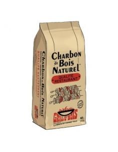Charbon de bois vg sac de 40 l