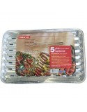 Plat barbecue aluminium bg 34 x 22,5