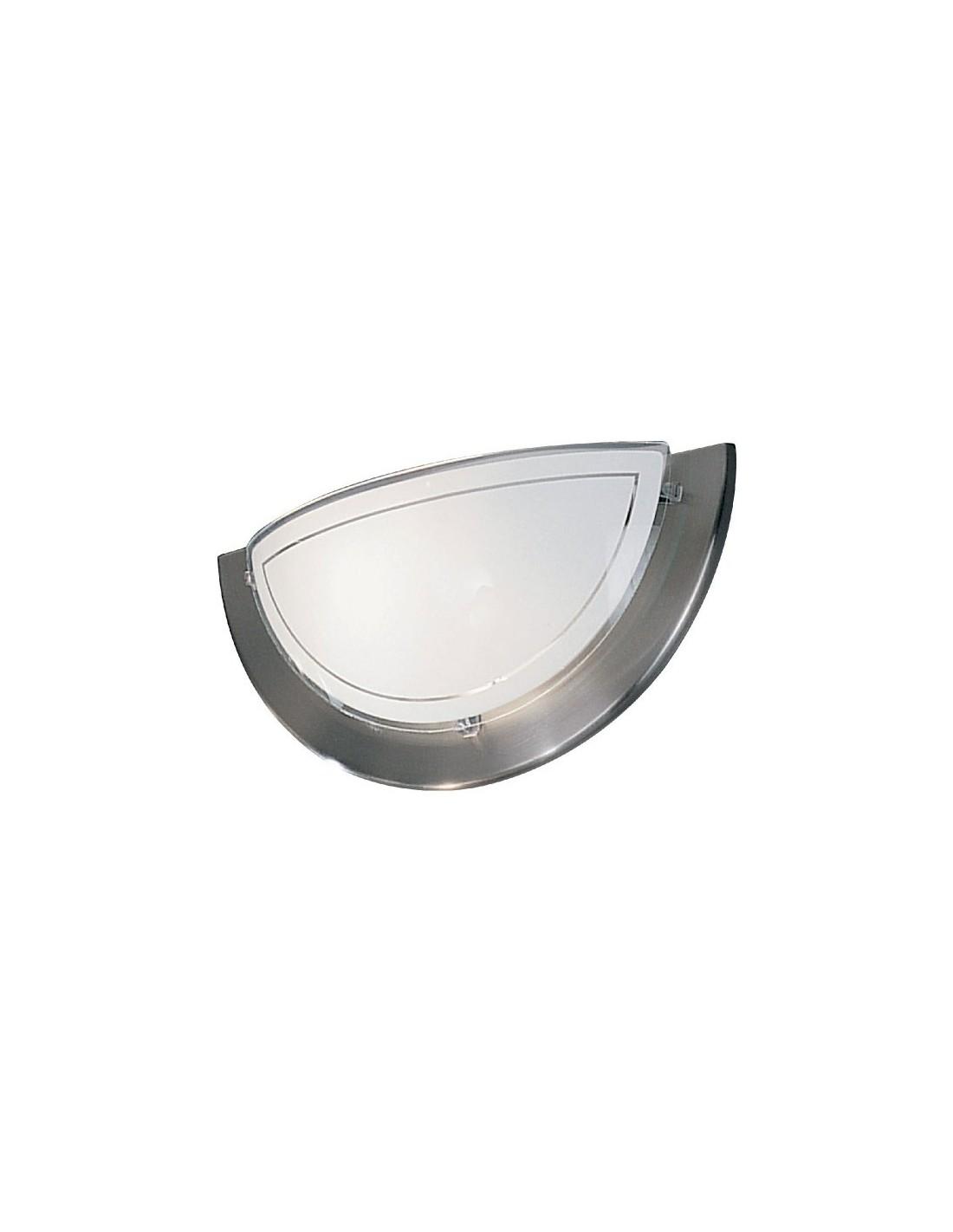 applique metal verre nickel applique metal verre nickel. Black Bedroom Furniture Sets. Home Design Ideas