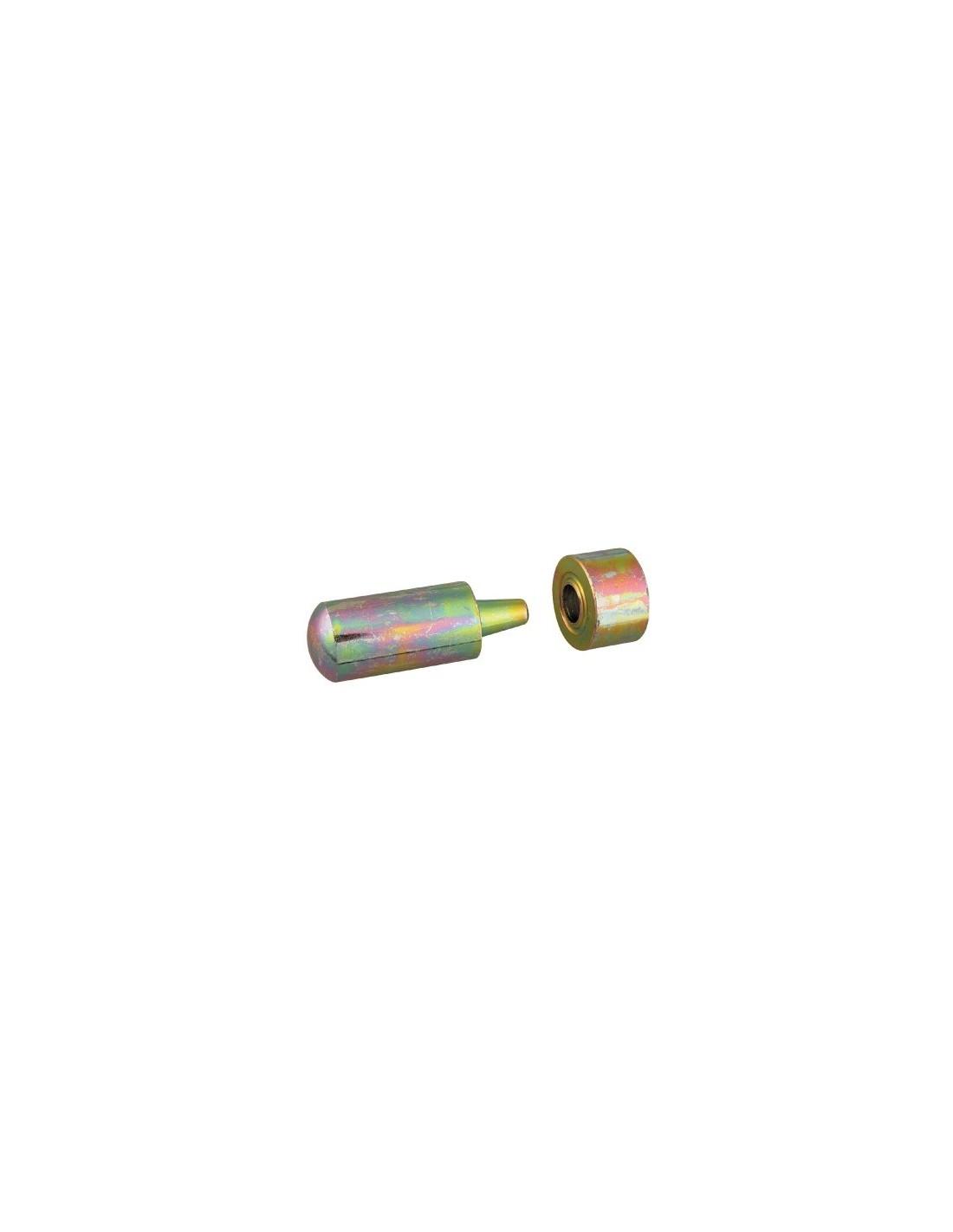 Outil de pose pour illets pour illets 8 mm outil pose p for Oeillet pour bache brico depot