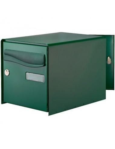 bo te aux lettres ouverture totale r box lys bg double face vert boite lettres df vert 123724. Black Bedroom Furniture Sets. Home Design Ideas