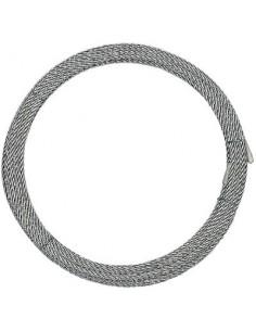 Cable acier dur qualité levage vg couronne 20 m 6 x 19 6 400