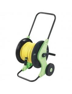 Dévidoir sur roues équipé pour tuyau arrosage