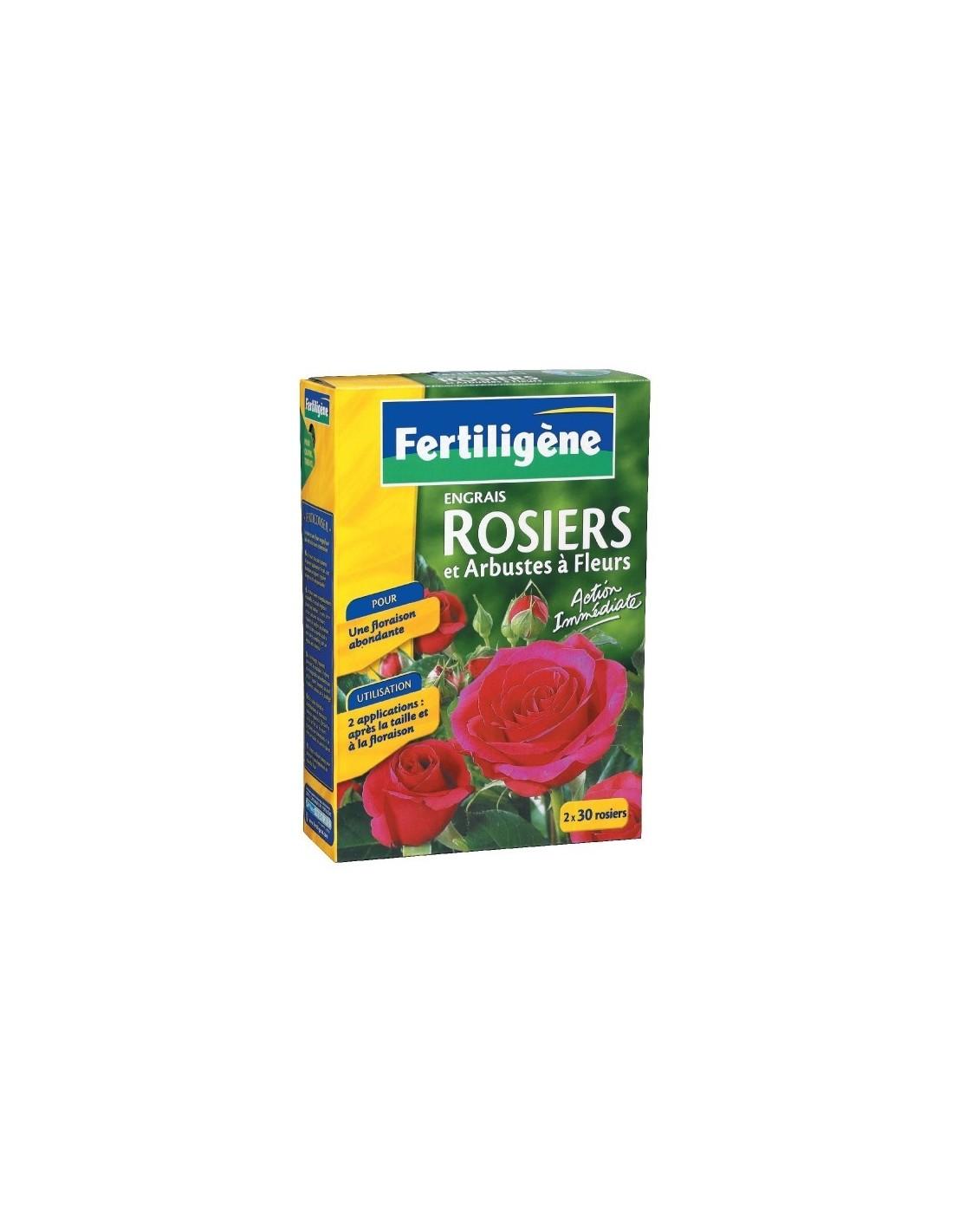 Engrais rosiers et arbustes fleurs bo te 1 5 kg for Engrais 3 fois 15