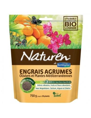 Engrais agrumes, plantes méditerranéennes Boîte 750 g