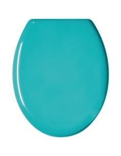 Abattant color bg bleu