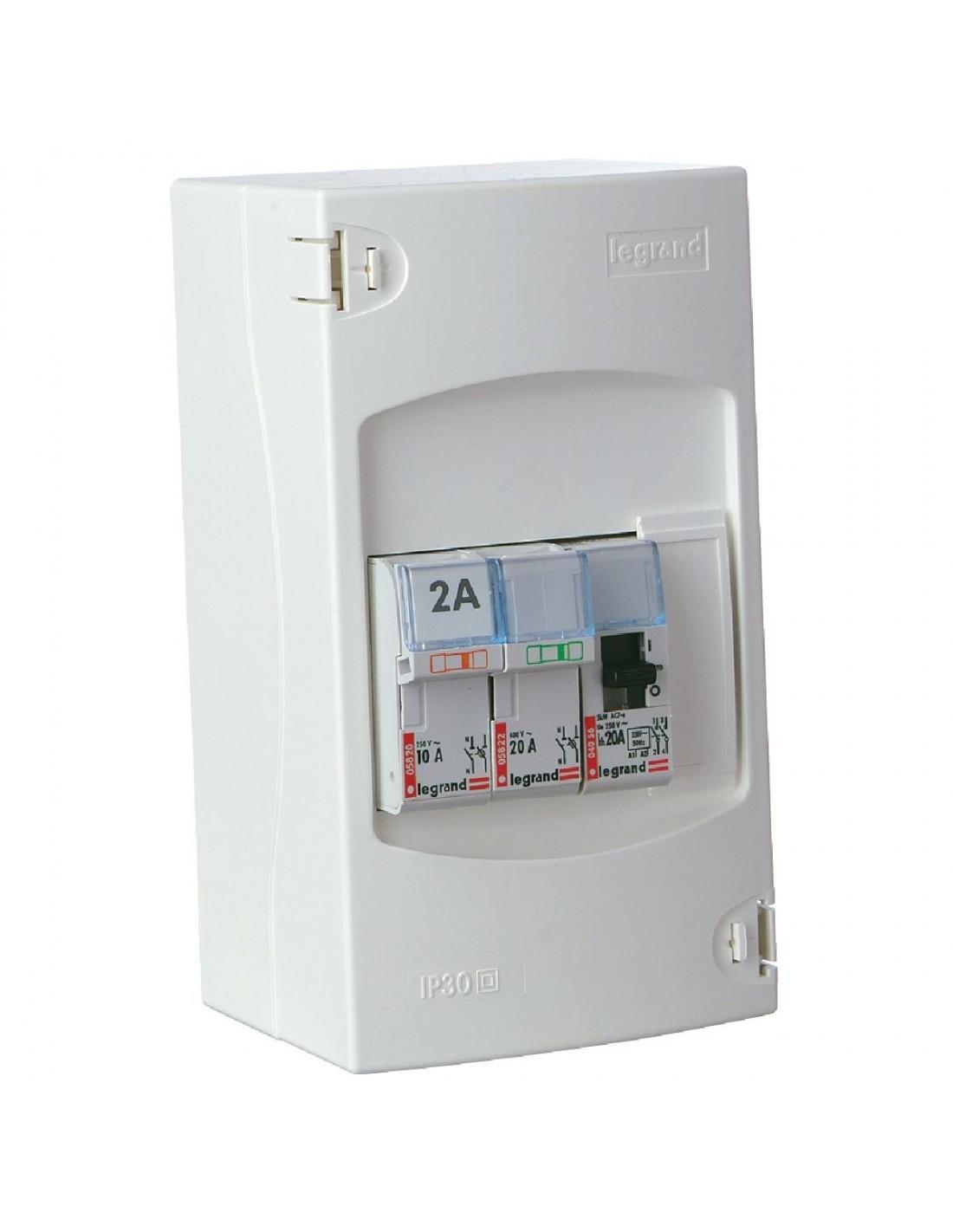Tableau lectrique de commande automatique de chauffe eau for Tableau electrique cuisine