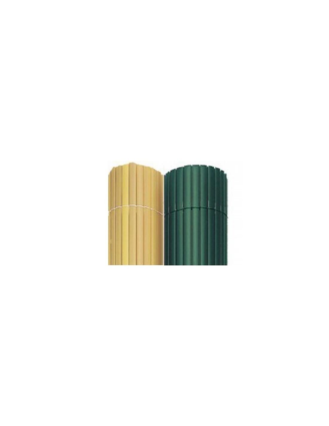 canisse pvc couleur verte double face 16mm ebay. Black Bedroom Furniture Sets. Home Design Ideas