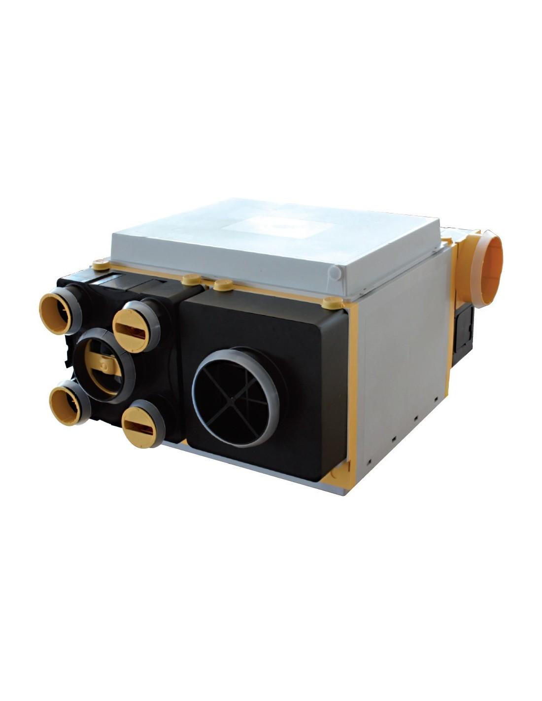 VMC Double Flux Unelvent Akor HR 603040 (haut Rendement