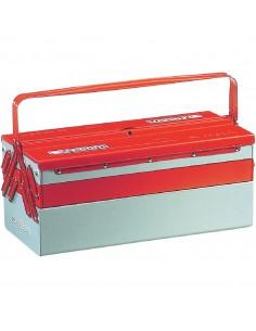 Boîte à outil métal 5 cases
