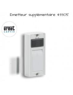 Emetteur sonnette URMET supplémentaire 43320