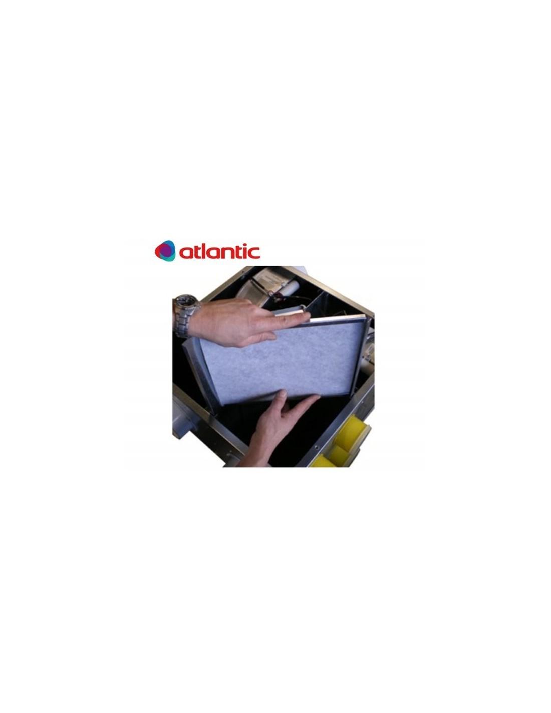 filtres pour vmc neodf double flux atlantic lot de 2 filtres. Black Bedroom Furniture Sets. Home Design Ideas