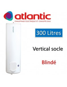 Chauffe-eau chauffeo 300 litres blindé vertical socle