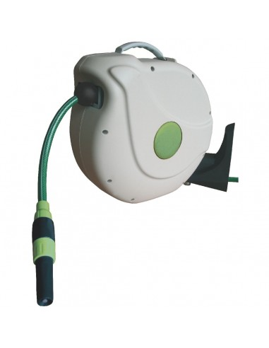 Enrouleur automatique de tuyau d 39 arrosage 20m - Enrouleur tuyau arrosage professionnel ...